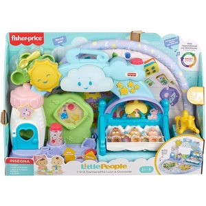Little People Cameretta Coccole Playset Musicale con Luci