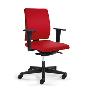 YEAH! seduta ergonomica con braccioli schienale basso