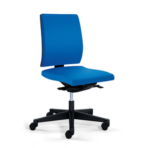 YEAH! seduta ergonomica senza braccioli schienale basso