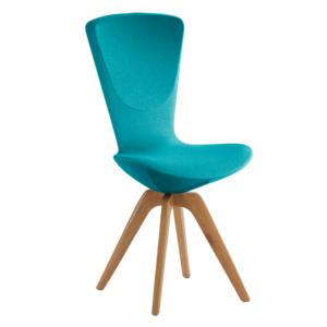 Sedia Varier Invite wood blu