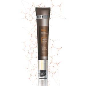 Korff, Sun Secret, crema solare fluida, protettiva ed anti-age spf 50+