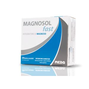Magnosol fast, integratore di Magnesio