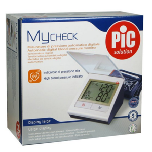 MyCheck Pic Solution, misuratore di pressione automatico digitale