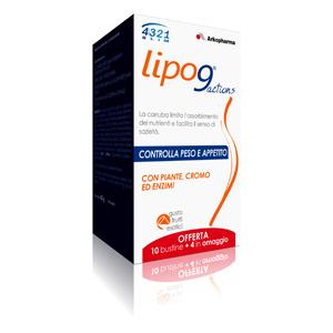 Lipo9, Arkopharma, Actions 4321 Slim