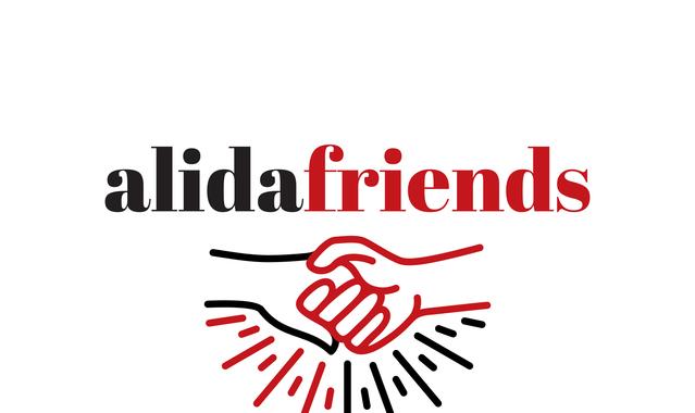 Alida friends logo esecutivo