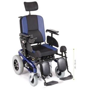 Carrozzina Elettrica Multifunzione Aries Pro Mobility Moretti Cs920Bl