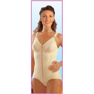 Body Modellatore Sostenitivo Cotton Form Corto Cerniera Scudotex 726 727 728