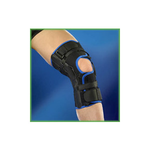 Ginocchiera avvolgente con articolazioni e controllo dell'iperestensione Tielle Camp DeRoyal 4014