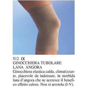 Ginocchiera tubolare lana angora naturale Scudotex 512