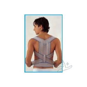 Luropas Raddrizzaspalle ortopedico regolabile incrociato e steccato Scudotex 624