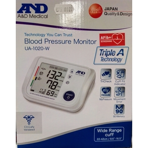 Misuratore di pressione digitale AND UA-1020.