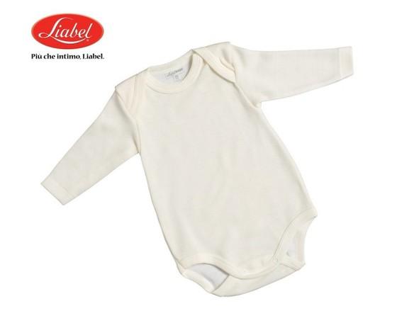 Body neonato 05321b 417 liabel lana e cotone