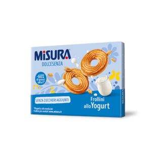 biscotti misura dolcesenza allo yogurt