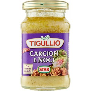 STAR PESTO TIGULLIO Gr185 CARCIOFI E noci