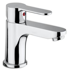 Miscelatore lavabo completo di piletta con scarico automatico serie BLU BLU075CRC PAFFONI