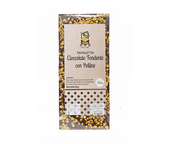Tavoletta di cioccolato e polline
