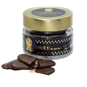 Lingue di Cioccolato Fondente al Miele