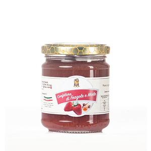 Confettura Fragola e Miele da 250 g