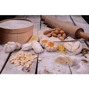 Paste di mandorla pistacchio/limone/arancia/mandarino 3 conf da 4 buste