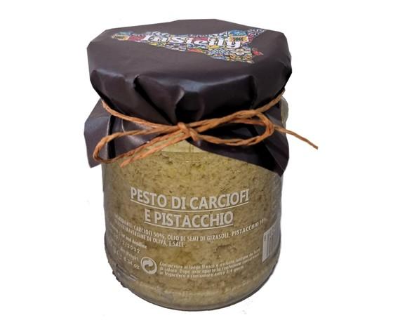 Pesto di carciofi e pistacchio 2