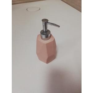 Dispenser PINK SURFACE porta sapone liquido con pompa in Abs cromato Cipì - dispenser pump Abs chrome Misure – Sizes Ø 8x19h