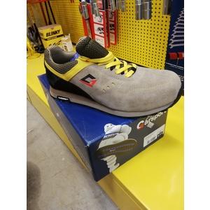 Sneaker antinfortunistiche VALLELUNGA GARSPORT con tomaia in crosta scamosciata, puntale in acciaio e suola Michelin