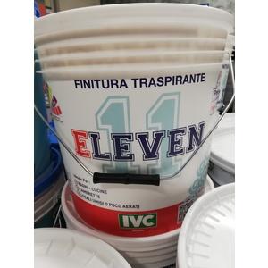 IVC ELEVEN idropittura traspirante antimuffa per interni bianco opaco 14 LT