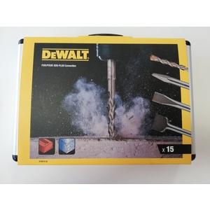 Set 15 pezzi scalpelli e punte SDS plusDT9 DEWALT
