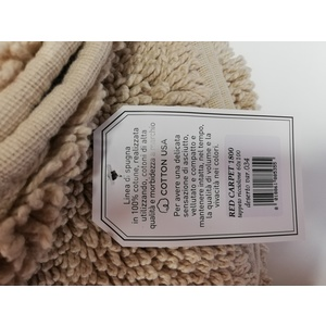 Tappeto Curly di cotone arricciato USA 1800 gr