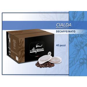 caffè decaffeinato in cialde 40 Pz