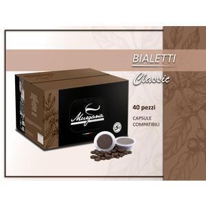 caffè Bialetti classic in capsule 40 Pz