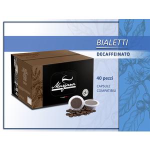 caffè Bialetti decaffeinato in capsule 40 Pz