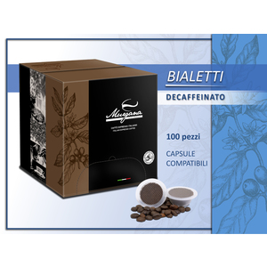 caffè Bialetti  decaffeinato in capsule 100 Pz