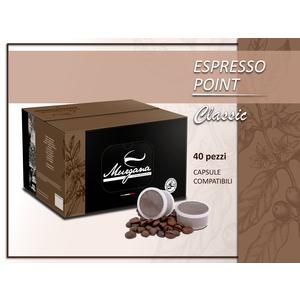 caffè espresso point  classic in capsule 40 Pz
