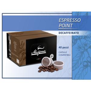 caffè espresso point decaffeinato in capsule 40  Pz