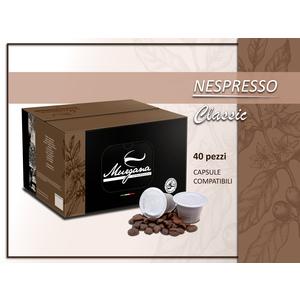 caffè nespresso classic in capsule 40 Pz