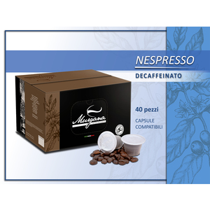 caffè nespresso decaffeinato in capsule 40 Pz