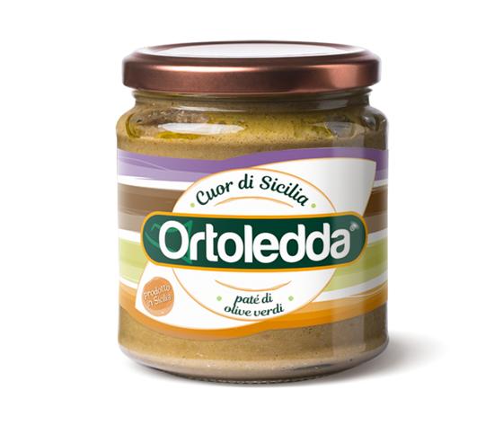 Pate di olive verdifronte