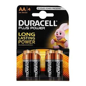 BATTERIA DURACELL PLUS AA STILO