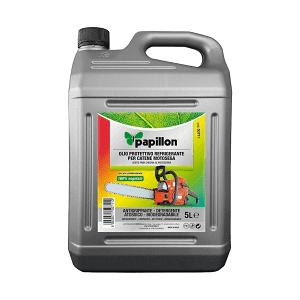Olio per catene  • Detergente speciale da 5 litri  • Olio lubrificante/pulizia/protezione universale per catena da motosega e barra  • Biodegradabile  • 100% vegetale. Fornisce la massima protezione contro l' usura
