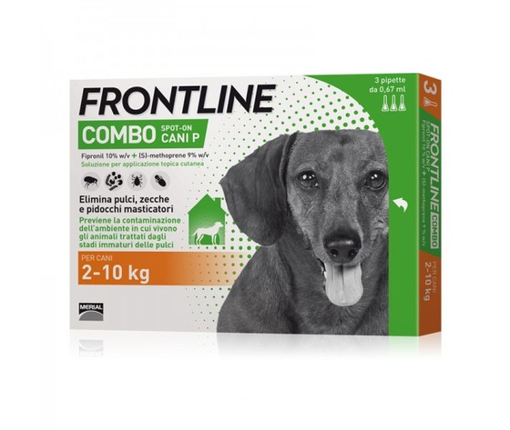 Frontline combo antiparassitario cane
