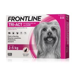 FRONTLINE TRI-ACT CANE DA 2-5 KG