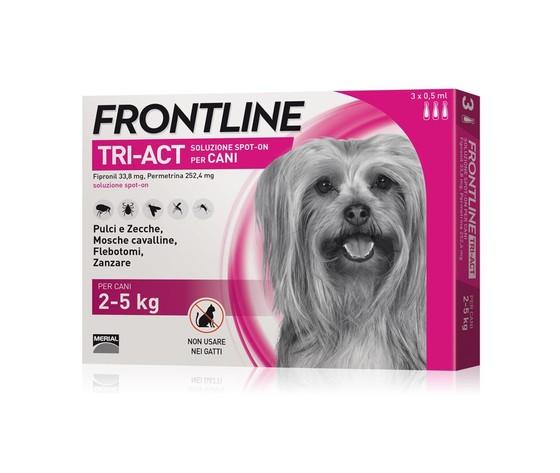 Frontline tri act per cani 2 5 kg