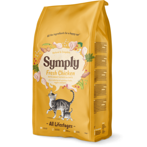 SYMPLY GATTO ALL LIFESTAGES PER TUTTE LE ETA' POLLO FRESCO 1,5 KG