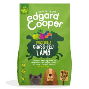 EDGARD & COOPER CANE ADULT GRAIN FREE AGNELLO FRESCO CON MELA E CAROTA 2,5 KG