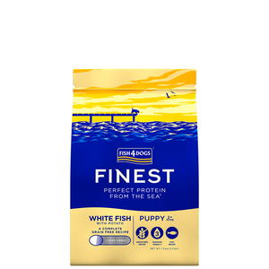 FISH4DOG CANE PUPPY LARGE FINEST WHITE FISH PESCE BIANCO 1,5 KG