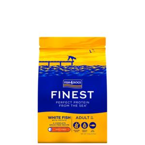 FISH4DOG CANE ADULT SMALL FINEST WHITE FISH PESCE BIANCO 1,5 KG