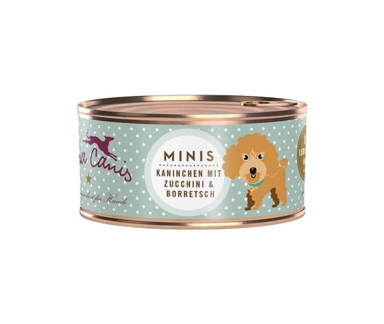 Terra canis mini menu coniglio e zucchine
