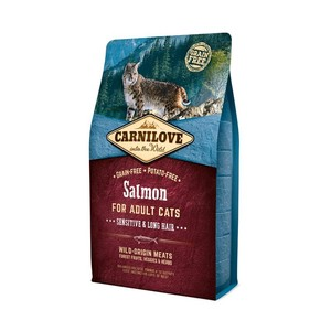 CARNILOVE CAT GATTO ADULTO SENSITIVE SALMONE 2 KG