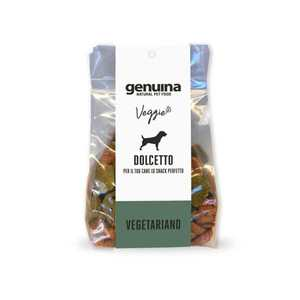 GENUINA PET FOOD DOLCETTO VEGETARIANO BISCOTTI 400 GR